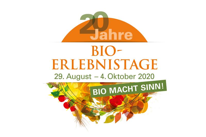 Bayern feiert 20 Jahre Bio – Erlebnistage