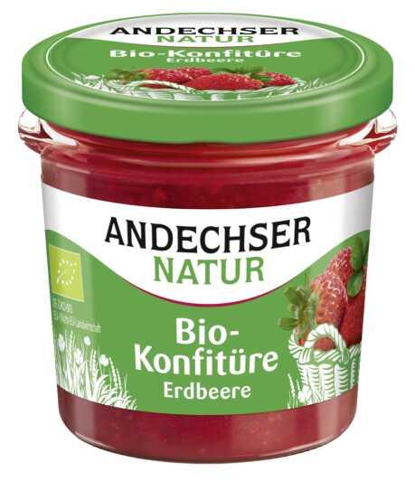 ANDECHSER NATUR im Konfitüreregal – natürlicher Bio- Frucht-Genuss in vier beliebten Sorten