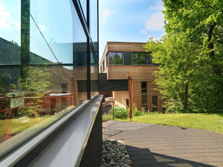 Neues Wirtschaftsgebäude bei Sonett